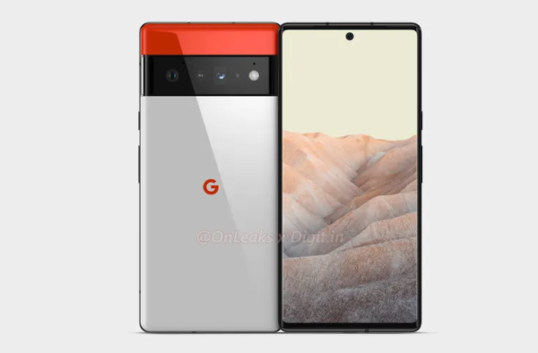 The Pixel 6 Pro could have a curved screen and a triple rear camera